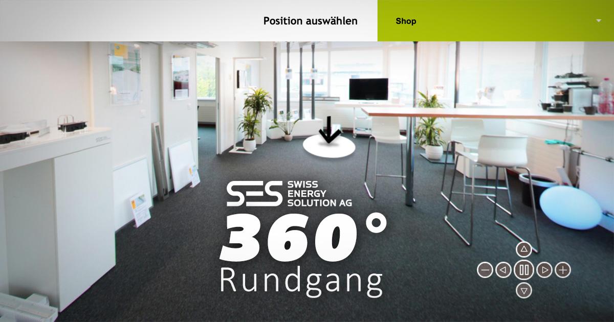 SES AG Showroom 360° Rundgang