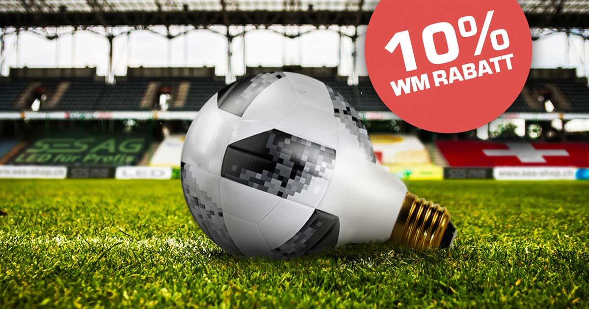 Fussball WM 2018 Russland - Rabatt im SES LED Online Store